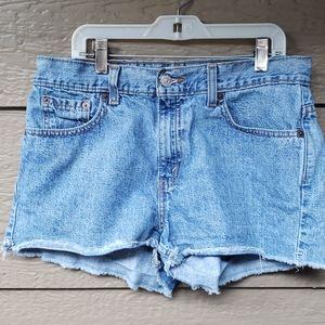 Vintage Levis Cutoffs Jean Shorts High Waist